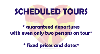 scheduled tours